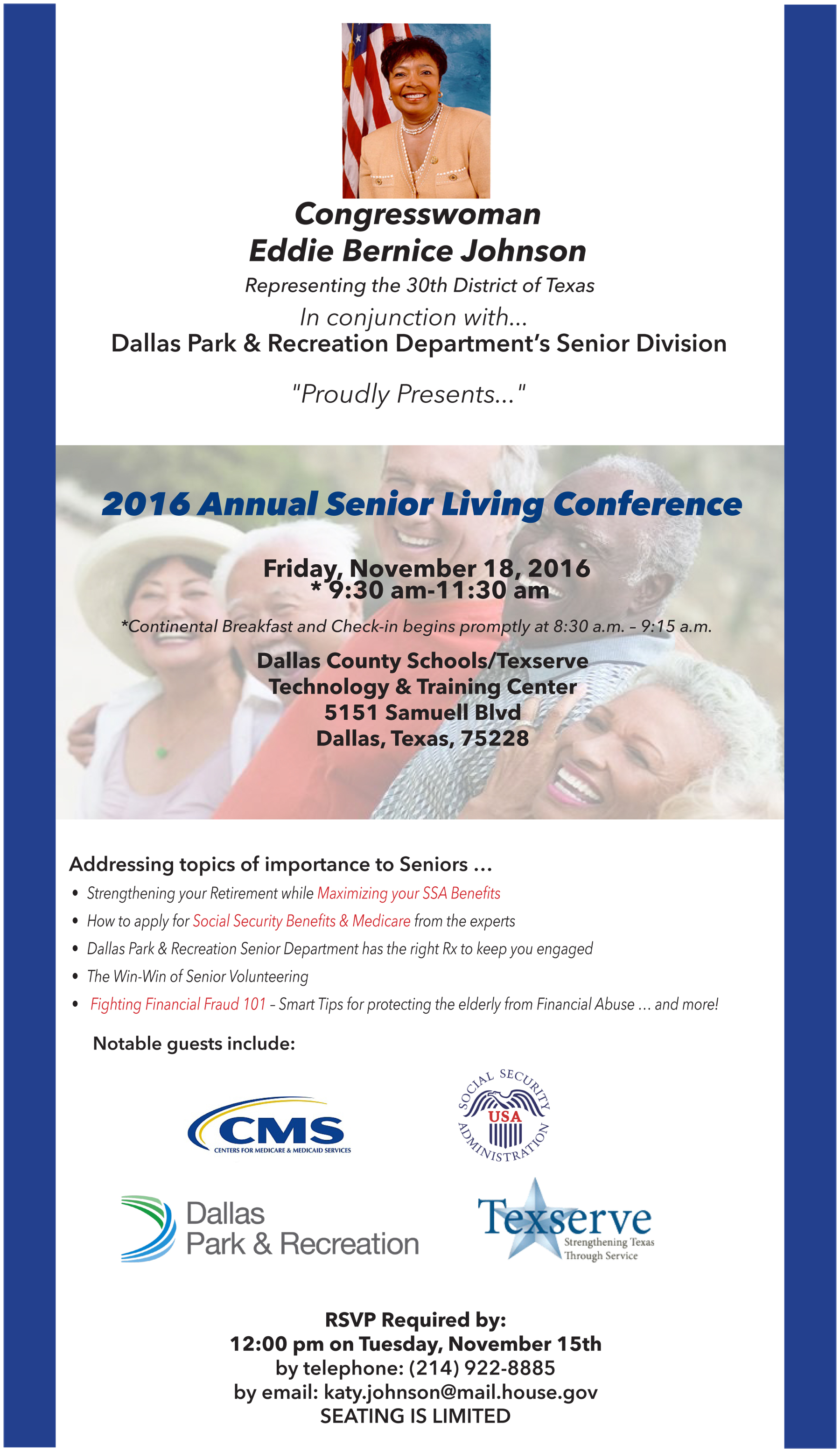 First Annual Senior Living Conference