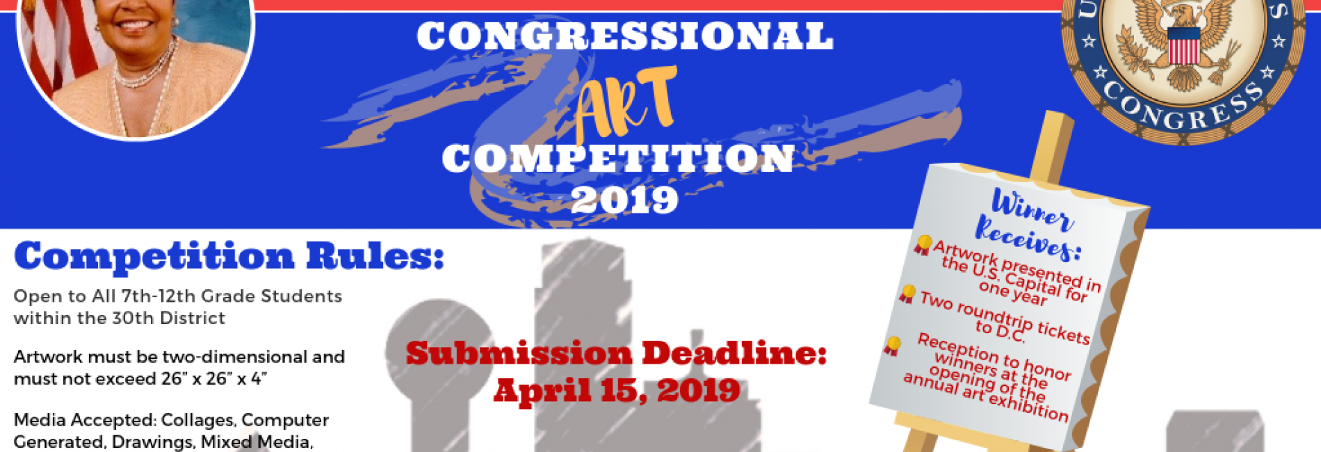 Congressional Art Competition Social Flyer 2019